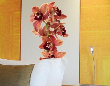 Wandtattoo No.180 Orchidee Rot II