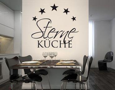 Wandtattoo Sprüche - Wandworte No.BR262 Sterneküche 3