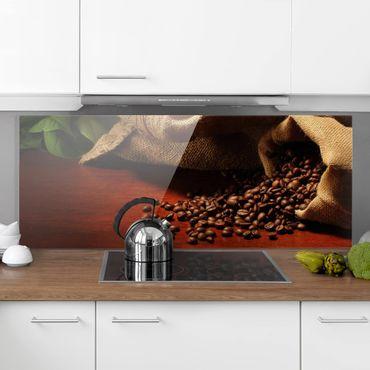 Spritzschutz Glas - Dulcet Coffee - Panorama - 5:2