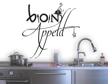 Wandtattoo Sprüche - Wandworte No.SF358 Bon Appetit