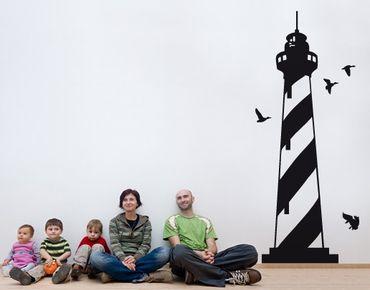 Wandtattoo No.SF647 Leuchtturm
