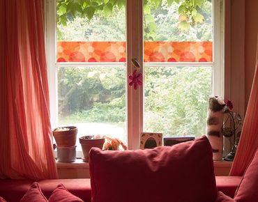 Fensterfolie - Sichtschutz Fenster Bordüre HavannaLounge - Fensterbilder