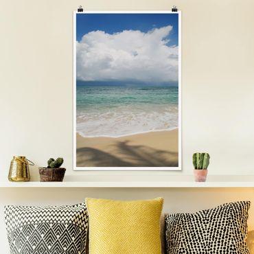 Poster - Antigua Bay - Hochformat 3:2