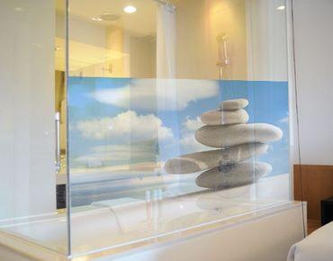 Fensterfolie - Sichtschutz Fenster In Balance - Fensterbilder