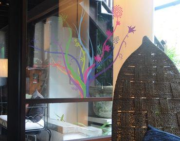 Fensterfolie - Fenstersticker No.231 Farbwunder - Fensterbilder