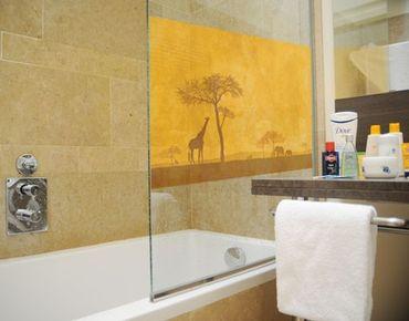 Fensterfolie - Sichtschutz Fenster Amazing Kenya - Fensterbilder