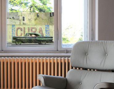 Fensterfolie - Sichtschutz Fenster Show Me Cuba - Fensterbilder