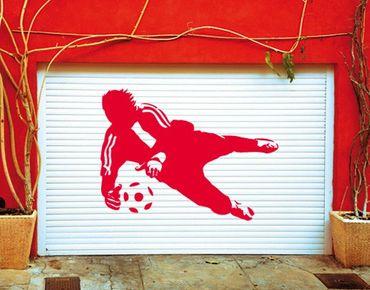 Wandtattoo Fußball - Kinderzimmer No.UL452 Torwartparade I