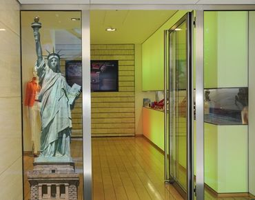 Fensterfolie - Fenstersticker No.TM152 Freiheitsstatue - Fensterbilder