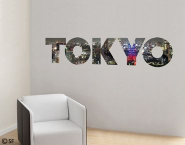 Wandtattoo Sprüche - Wandworte No.SF783 Tokyo