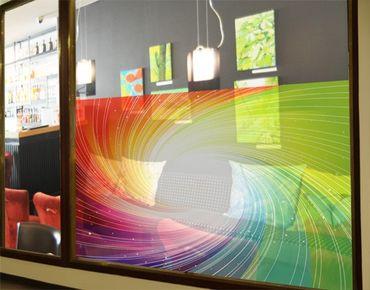Fensterfolie - Sichtschutz Fenster Kaleidoscope - Fensterbilder