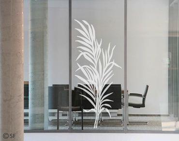 Fensterfolie - Fenstertattoo No.SF803 Farn - Milchglasfolie