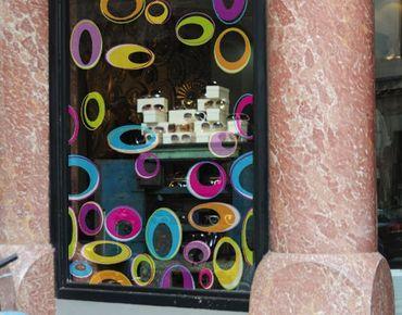 Fensterfolie - Fenstersticker No.170 Happy Eggs - Fensterbilder
