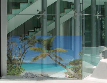 Fensterfolie - Sichtschutz Fenster Les Seychelles - Fensterbilder