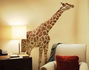 Wandtattoo Giraffe No.316 Naschende Giraffe