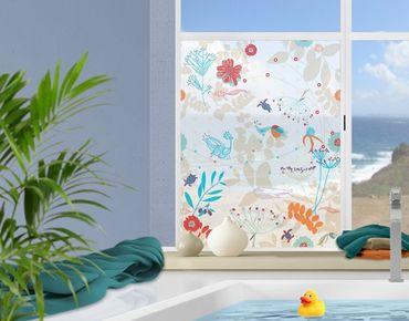 Fensterfolie - Sichtschutz Fenster Coastal Life - Fensterbilder
