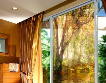 Fensterfolie - Sichtschutz Fenster Dreamland - Fensterbilder
