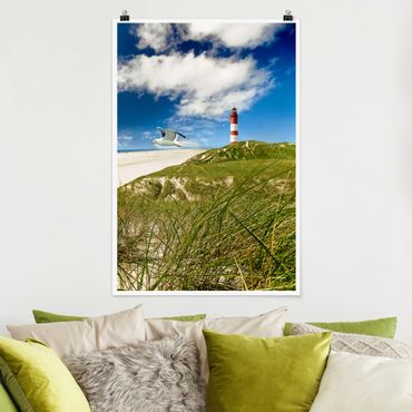 Poster - Dune Breeze - Hochformat 3:2
