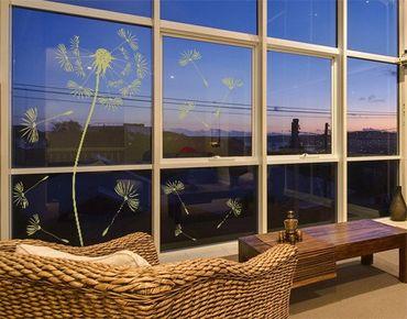 Fensterfolie - Fenstertattoo No.199 Pusteblume - Milchglasfolie