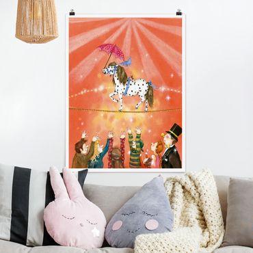 Poster - Zirkuspony Micki - Hochformat 3:4