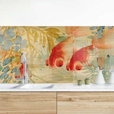 Küchenrückwand - Ni Tian - Goldfische