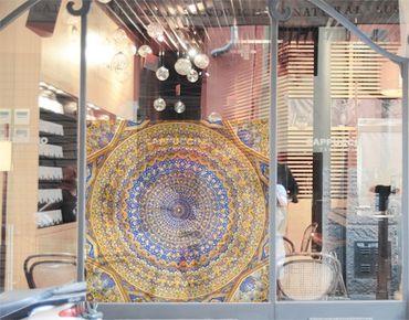 Fensterfolie - Sichtschutz Fenster Dome of the Mosque - Fensterbilder