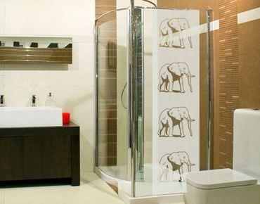 Fensterfolie - Sichtschutzfolie No.5 Elefant III - Milchglasfolie