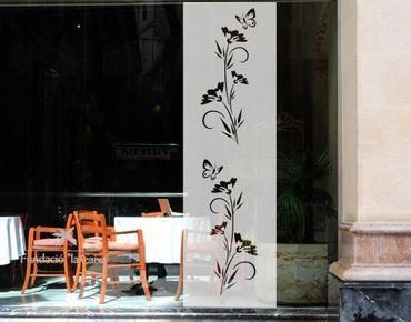Fensterfolie - Sichtschutzfolie No.80 Blümchen III - Milchglasfolie