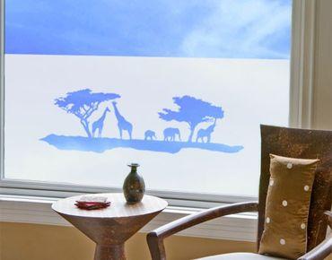 Fensterfolie - Sichtschutzfolie No.TM8 In Kenia I - Milchglasfolie