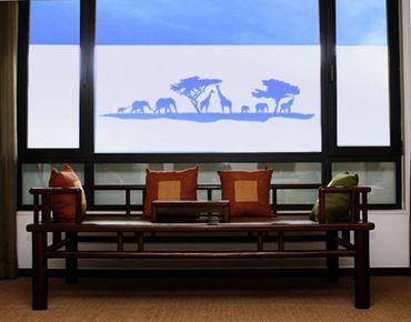 Fensterfolie - Sichtschutzfolie No.TM13 Safari II I - Milchglasfolie
