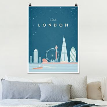 Poster - Reiseposter - London - Hochformat 4:3