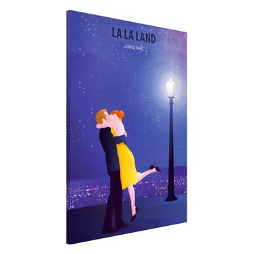 Magnettafel - Filmposter La La Land II - Memoboard Hochformat 3:2
