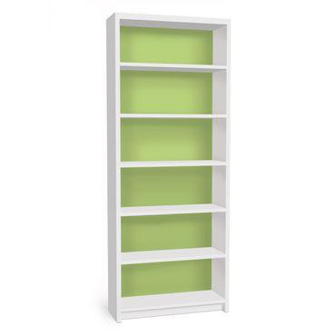 Möbelfolie für IKEA Billy Regal - Klebefolie Colour Spring Green