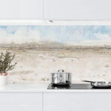 Küchenrückwand - Horizont-Kante I