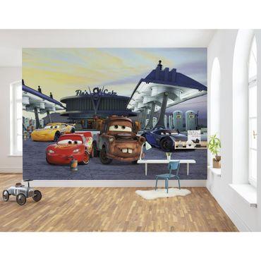 Disney Kindertapete - Cars3 Station - Komar Fototapete