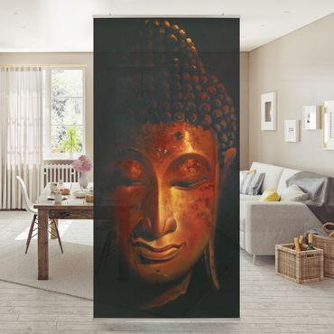 Raumteiler - Madras Buddha 250x120cm
