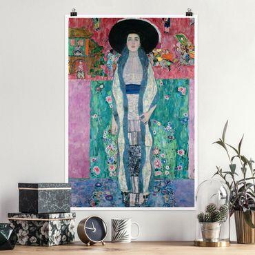 Poster - Gustav Klimt - Adele Bloch-Bauer II - Hochformat 3:2