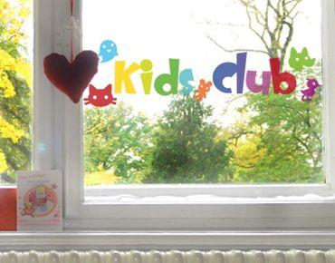 Fensterfolie - Fenstersticker No.IS22 Kids Club - Fensterbilder