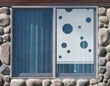 Fensterfolie - Sichtschutzfolie No.UL70 Rollo Holes - Milchglasfolie