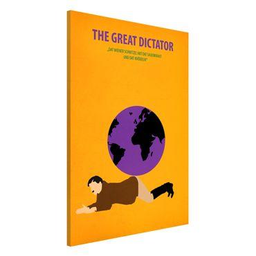 Magnettafel - Filmposter The great dictator - Memoboard Hochformat 3:2