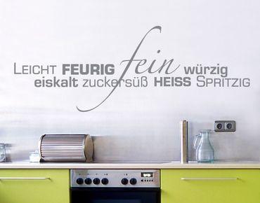 Wandtattoo Sprüche - Wandworte No.UL88 Küchenworte2