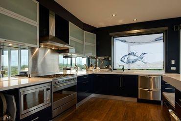 Fensterfolie - Sichtschutz Fenster Liquid Silver Fish - Fensterbilder