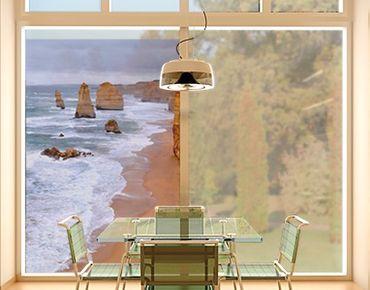 Fensterfolie - Sichtschutz Fenster Die 12 Apostel - Fensterbilder