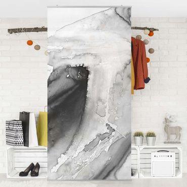 Raumteiler - Dunst und Wasser I - 250x120cm