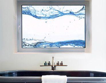 Fensterfolie - Fenstersticker No.472 Wasserwelten - Fensterbilder
