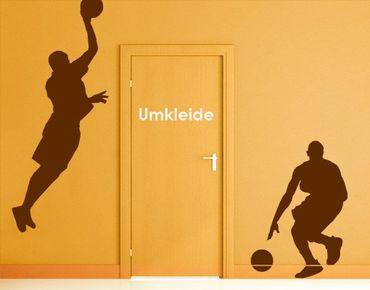 Wandtattoo Basketball No.814 Dribbling
