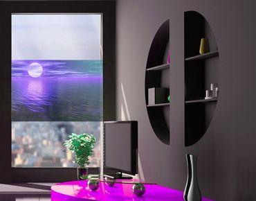 Fensterfolie - Sichtschutz Fenster Deep Moon - Fensterbilder