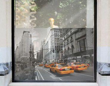 Fensterfolie - Sichtschutz Fenster New York, New York! - Fensterbilder