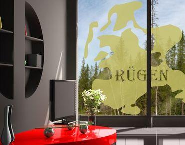 Fensterfolie - Fenstertattoo No.474 Rügen - Milchglasfolie