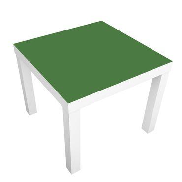 Möbelfolie für IKEA Lack - Klebefolie Colour Dark Green